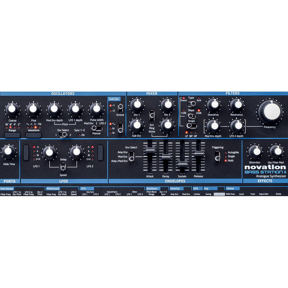 Novation Bass Station II купить