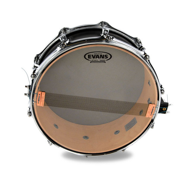 """Clear 300 Snare Side Head Evans 13/"""" Hazy S13H30"""