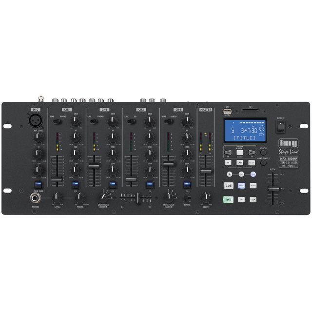 IMG STAGELINE MPX-40DMP DJ-Mixer mit MP3-Player