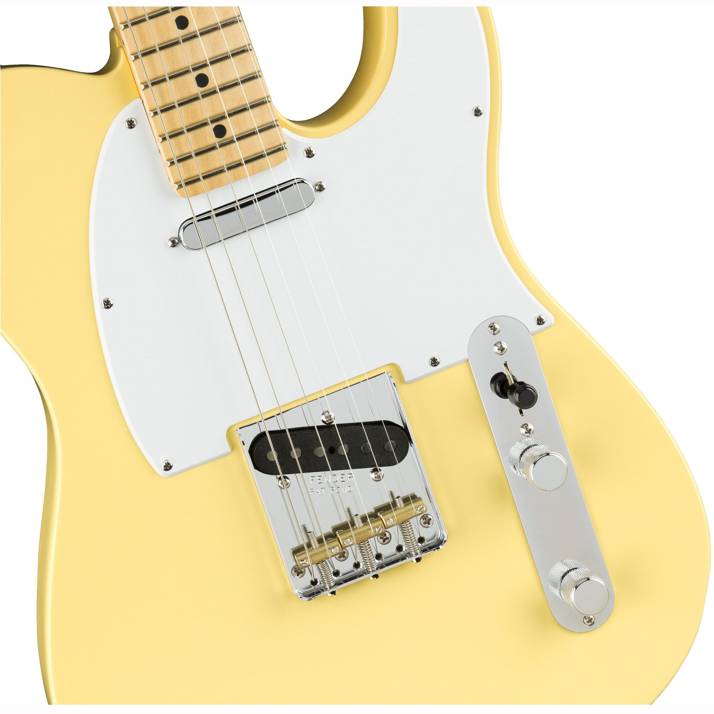 Fender American Performer Telecaster®, Maple Fingerboard, Vintage White купить
