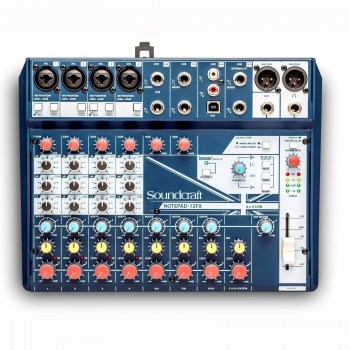 Soundcraft Notepad-12fx купить