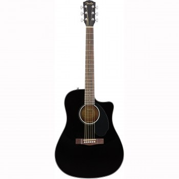 Fender Cd-60sce Dread Black Wn купить
