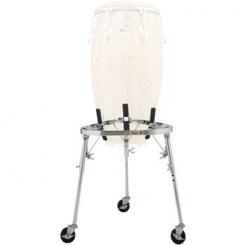 Latin Percussion Conga Stand LP636 with Wheels купить