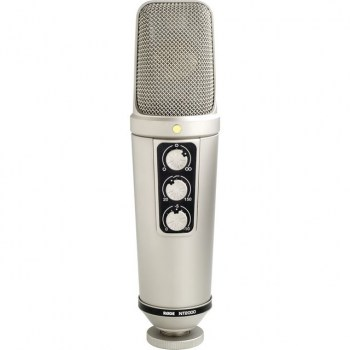 Rode NT-2000 Condenser Mic cardioid,Figure-8,el.Holder купить