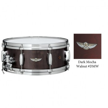 "Tama Star Walnut Snare TWS1465, Dark Mocha Walnut, 14""x6.5"" купить"